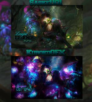 [Collab] Zyra LOL con KurokoGFX