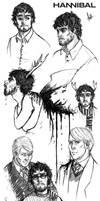 Hannibal Sketchdump 1