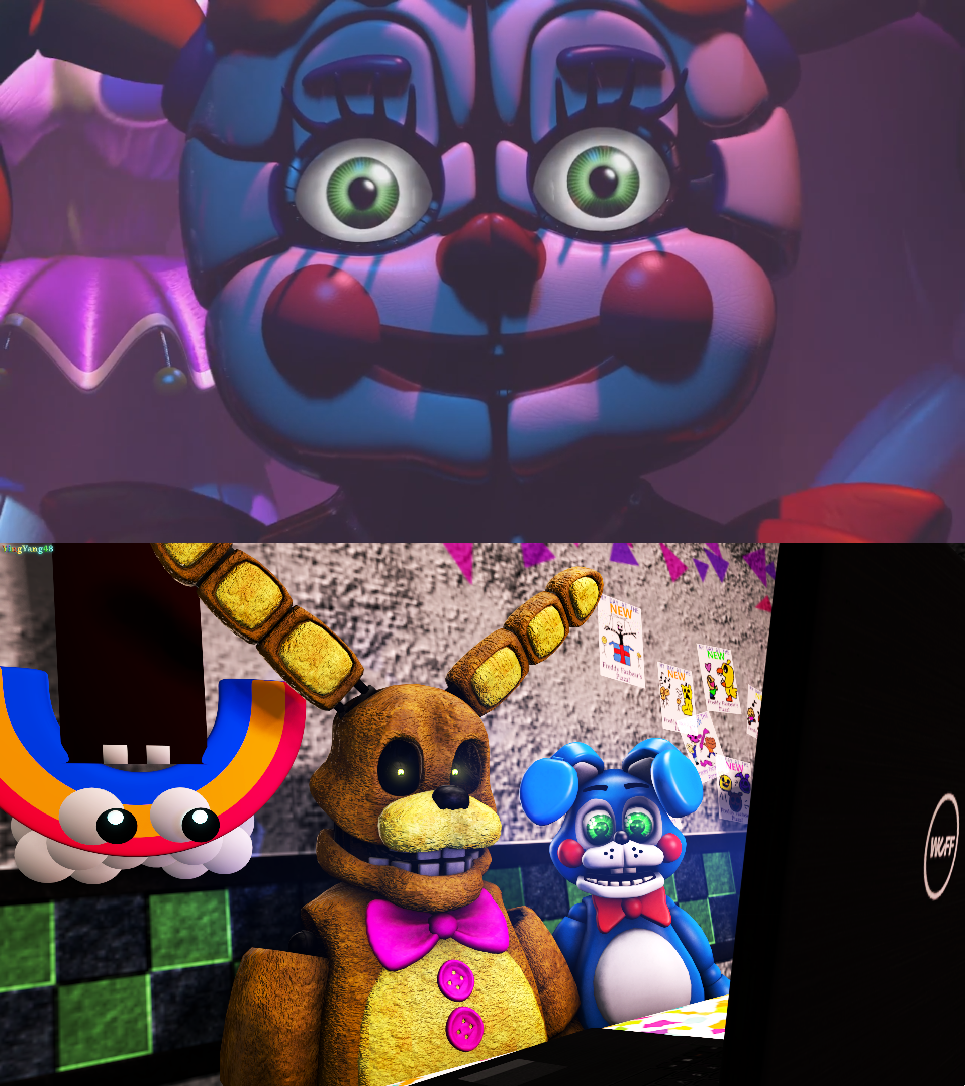 [SFM FNAF Comic] So, Trailer Is Out.... By YingYang48 On