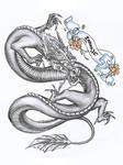 scroll and dragon tattoo prac
