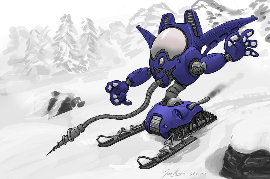 Snowmobile by JOVictory