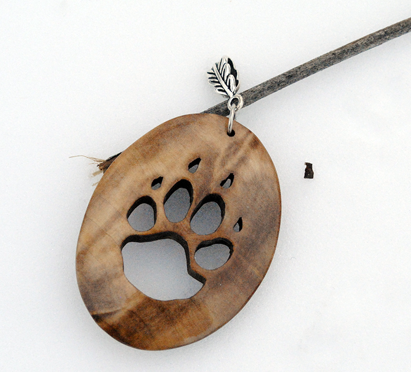 Wooden tiger paw pendant by jonasolsenwoodcraft on deviantart wooden tiger paw pendant by jonasolsenwoodcraft aloadofball Gallery