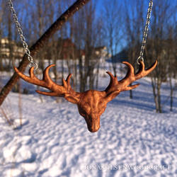 Buck pendant finished!