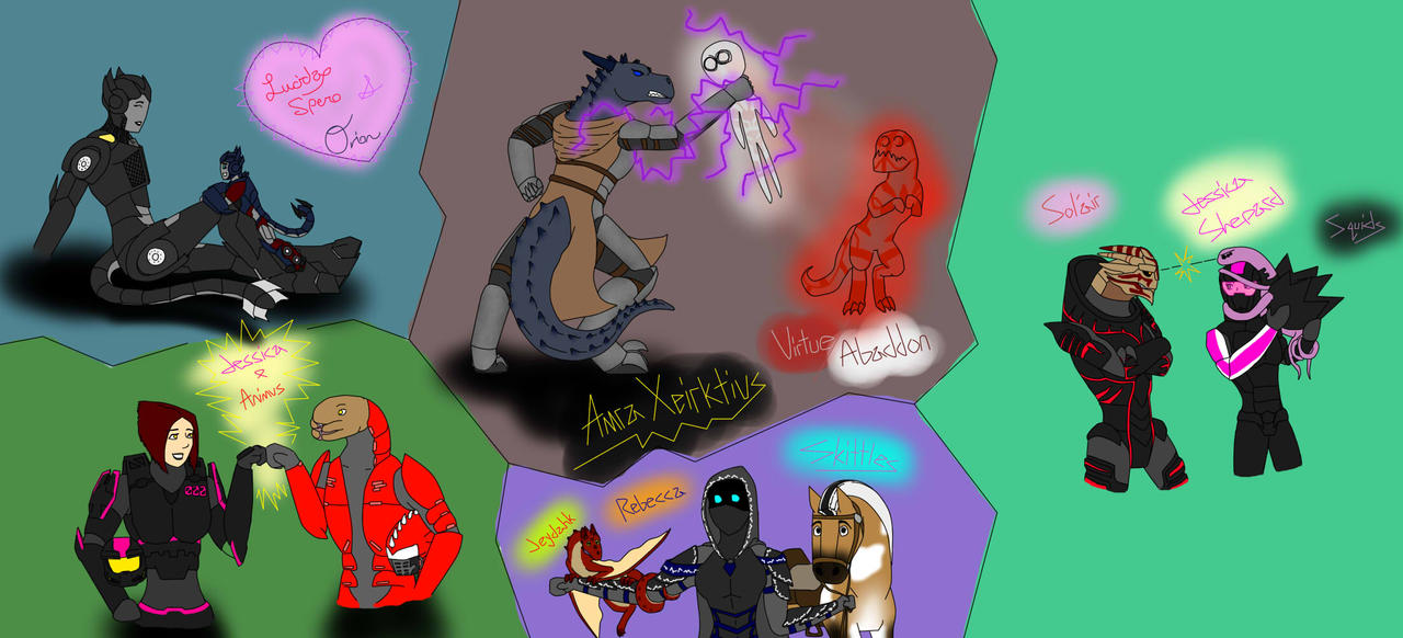Ask My OCs by Spartan0-0-0