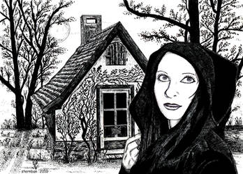 The cottage of the magician by sternban