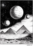 Cosmic pyramids