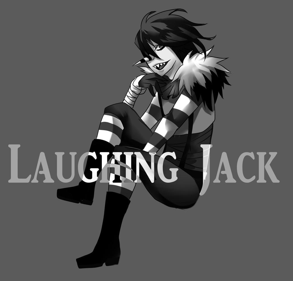 Creepypasta laughing jack chibi