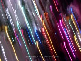 Neon Rain by RestlessWolfSpirit