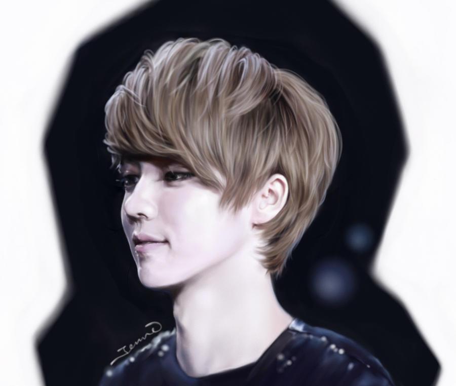 EXO Luhan by jennieyu