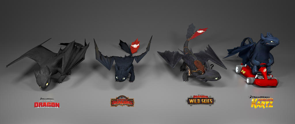 Toothless' Details | School of Dragons | How to Train Your