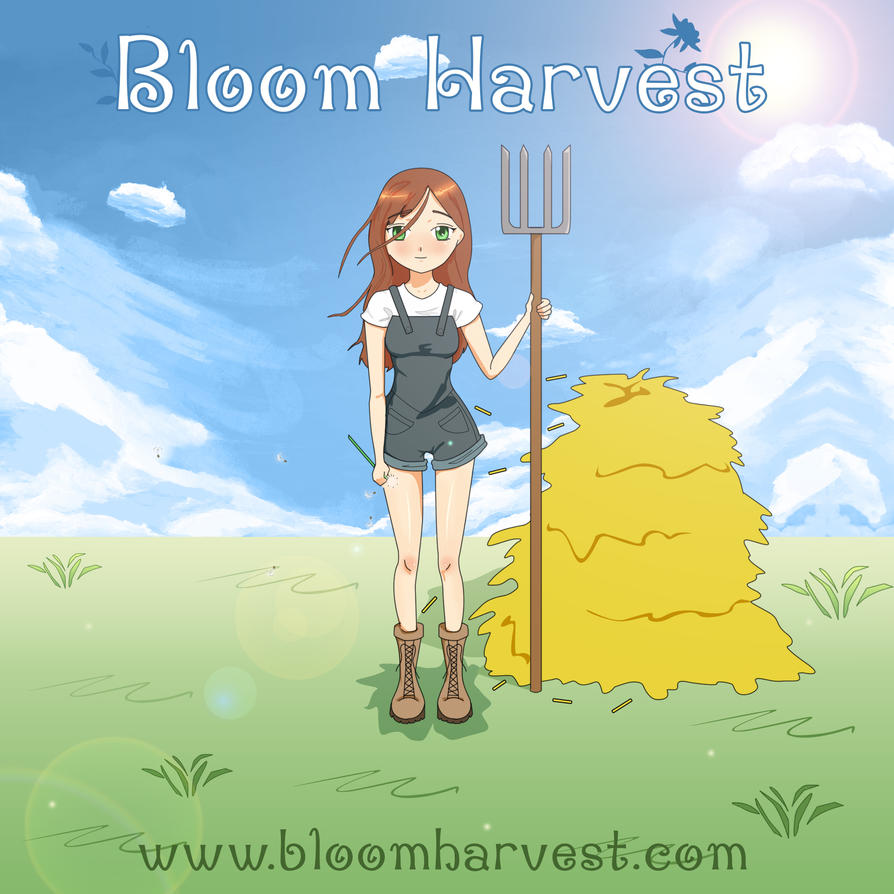 Bloom Harvest Game Promo Poster by Faymara