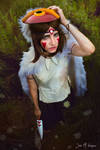 Hana Minamoto ~ Mononoke Hime Cosplay ~ Princess by Hana-Zone