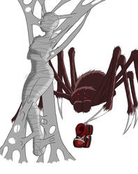 Commission- Along Came A Spider-part 4 by RocatArt