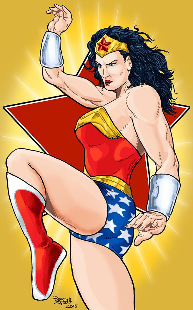 Wonder Woman by DeanStahlArt