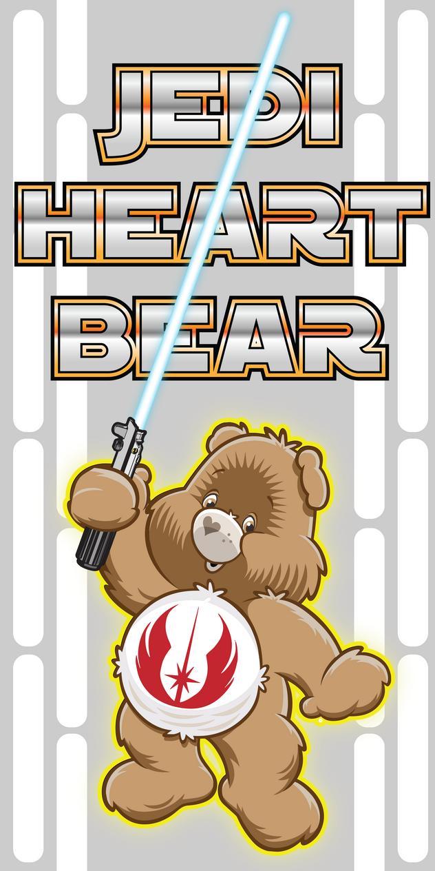 JediHeartBear by DeanStahlArt