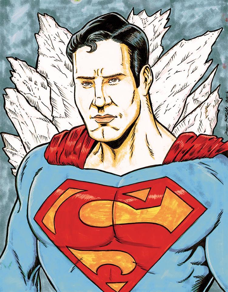 Superman by DeanStahlArt