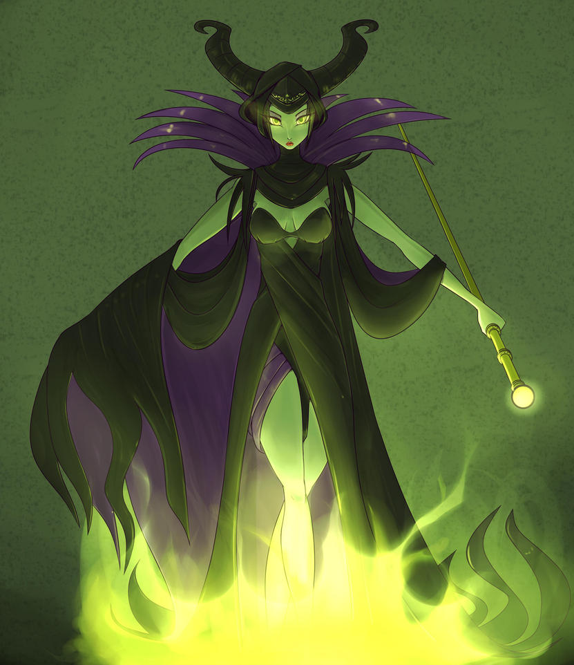 Maleficent Fanart Collab by Da3rd