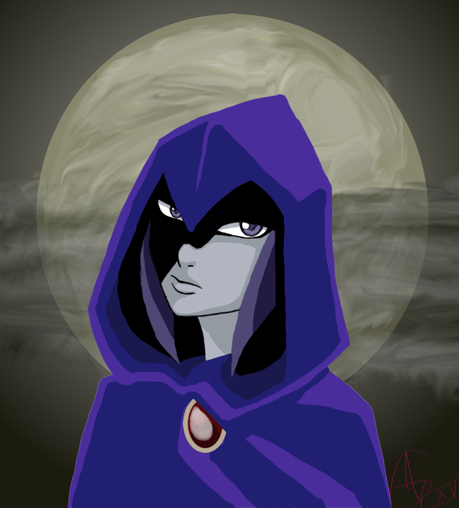 Drawlloween 2015: MOON by gordobruce