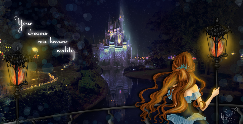 Dream princess v.Cinderella by Nozomi-J