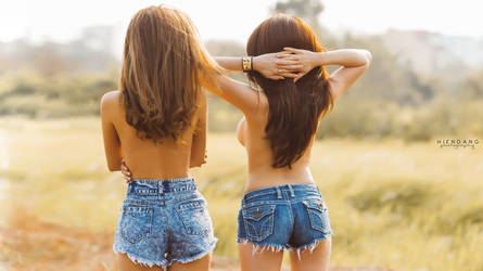 2 girls 1 day by demon1582