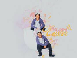. happy easter wallpaper . by ImprintedVampire