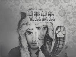 . teddy love wallpaper . by ImprintedVampire
