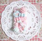 Decoden case: Cotton Candy-Flavoured Desserts (1)