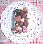 Decoden case: Chocolatey Desserts (1)