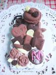 Decoden case: Chocolatey Desserts (2)