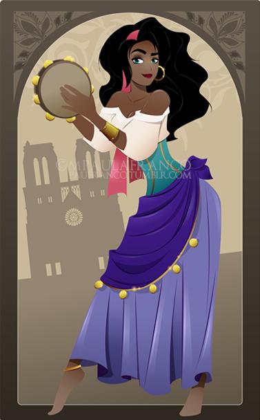 Esmeralda by paufranco