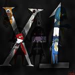 X-1 owns yo
