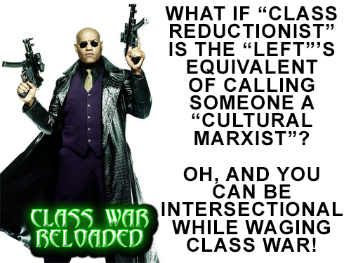CLASS WAR RELOADED by crizzlesbuttons