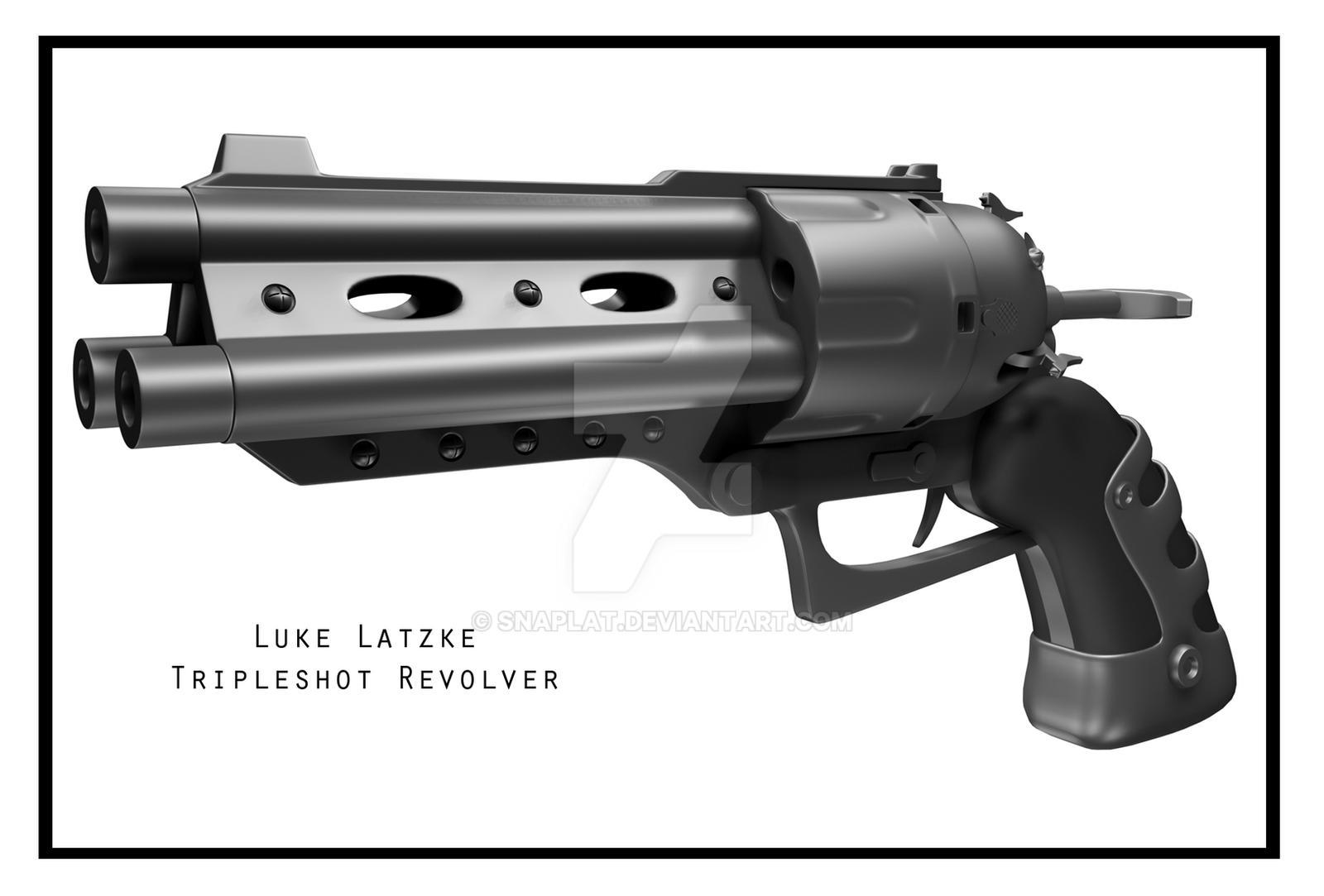 Tripleshot Revolver by snaplat