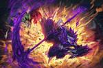 Splash Art Comm: Stiched Reaper