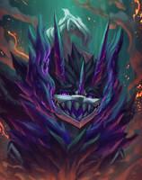 Portrait Commission: Stitched Reaper