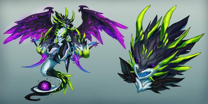 [Custom Fuwachii] Dragon Sythe - EPIC