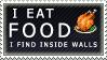 I eat food Stamp