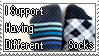 Different Socks Stamp by MiniGorbi