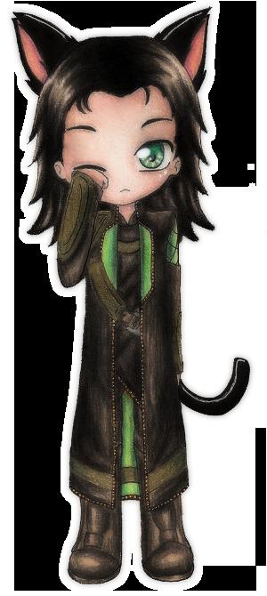 Neko Loki by Nay-Hime