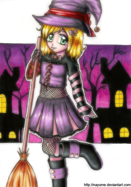 -- It's Halloween! -- by Nay-Hime