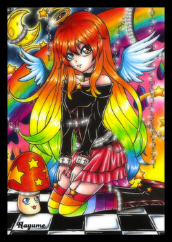-- Colorful Ambre --
