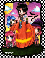 -- Halloween Party -- by Nay-Hime