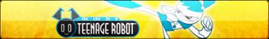 My Life as a Teenage Robot Fan Button