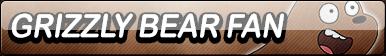 Grizzly Bear (We Bare Bears) Fan Button