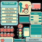 HUD/UI Selection for OLIN game