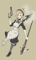 Mercy maid skin concept