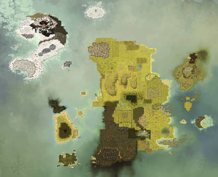 Map Of DOFUS in High Quality