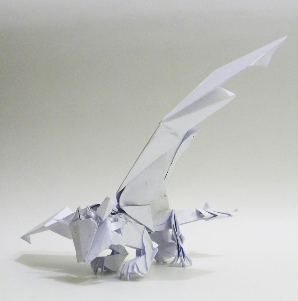 Origami Toothless by twistedndistorted on DeviantArt - photo#2