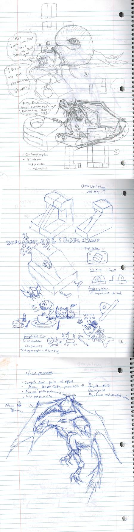 Random sketches by twistedndistorted