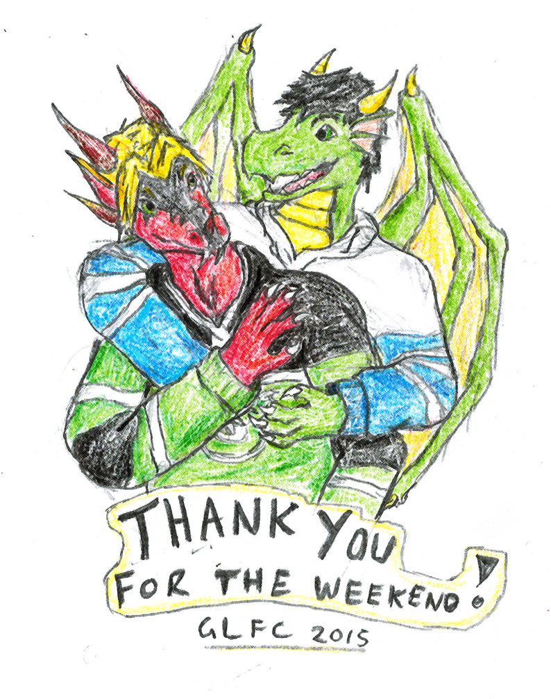 Thank you for the weekend by twistedndistorted